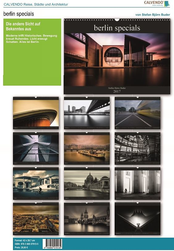 moderne buder 2017, berlin specials - calender 2017 - sbb photography, Design ideen
